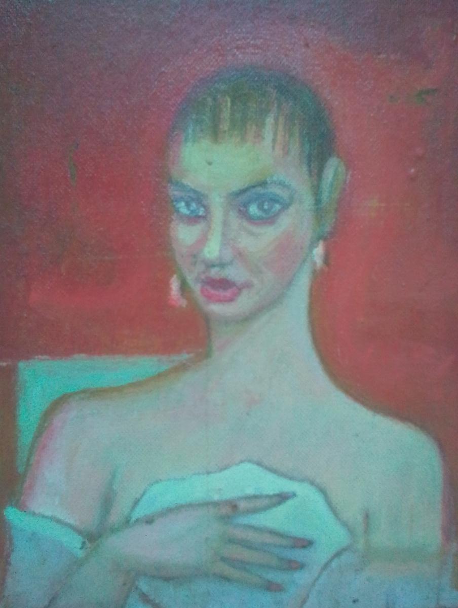 Вячеслав Коренев. Женский портрет