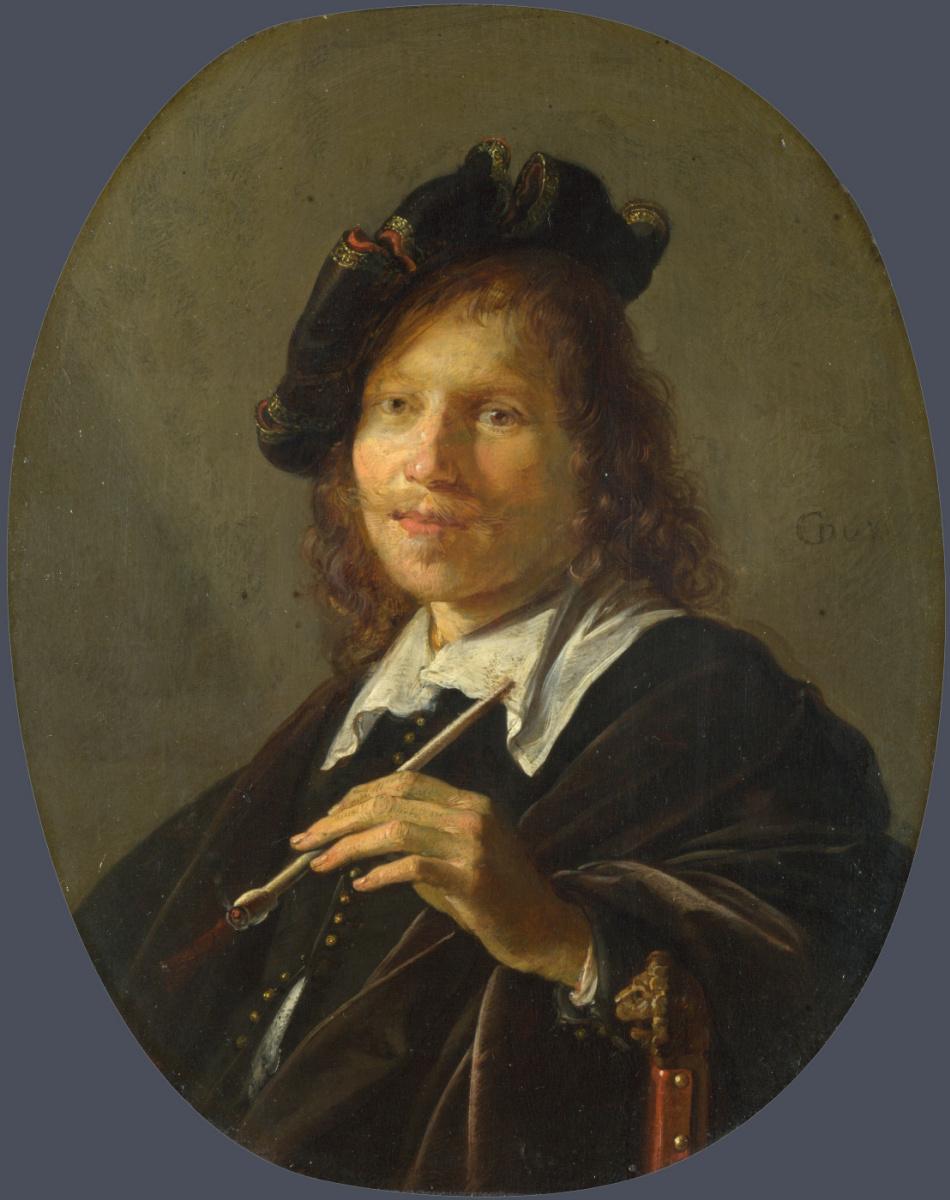 Герард Доу. Портрет мужчины