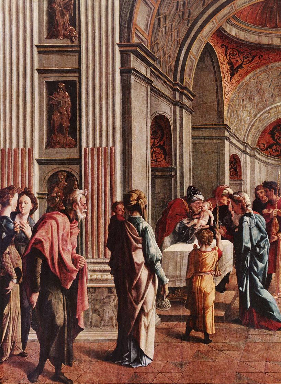 Ян ван Скорел. Принесение во храм