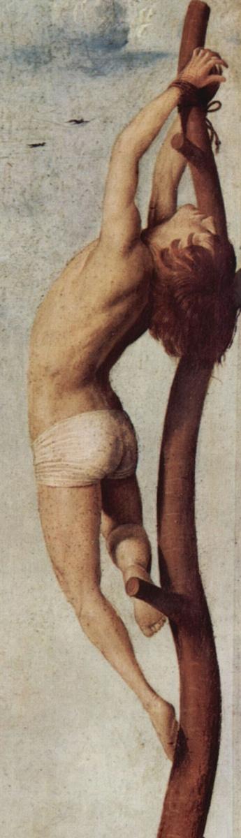 Антонелло да Мессина. Разбойник на кресте