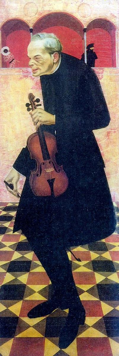 Александр Евгеньевич Яковлев. Скрипач