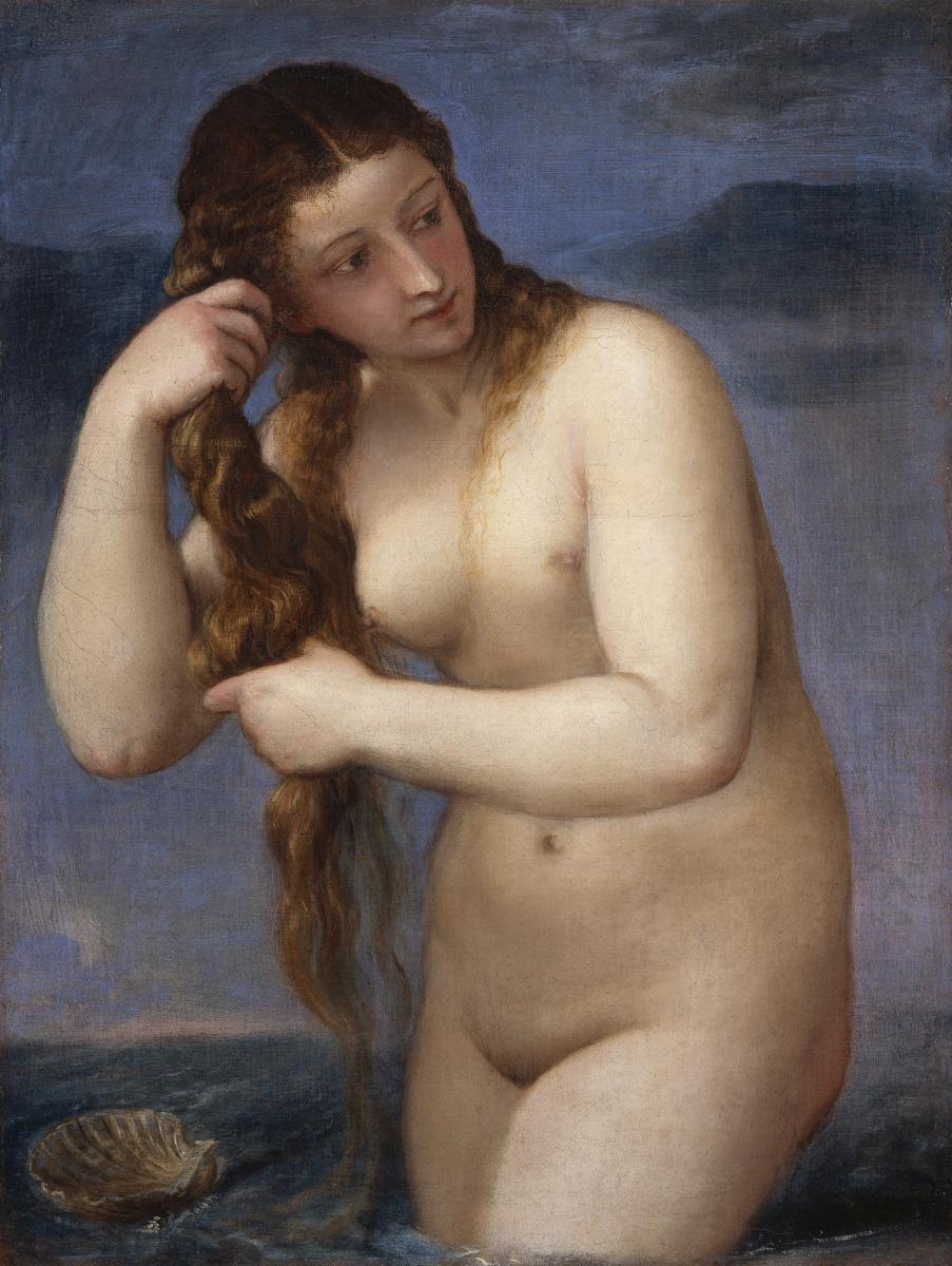 Titian Vecelli. Venus Of Anadiomena