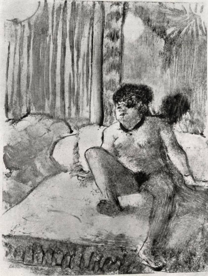 Эдгар Дега. Отдых на постели