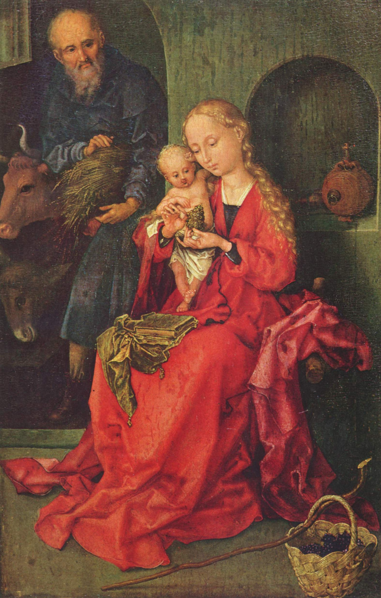 Martin Schongauer. Holy family