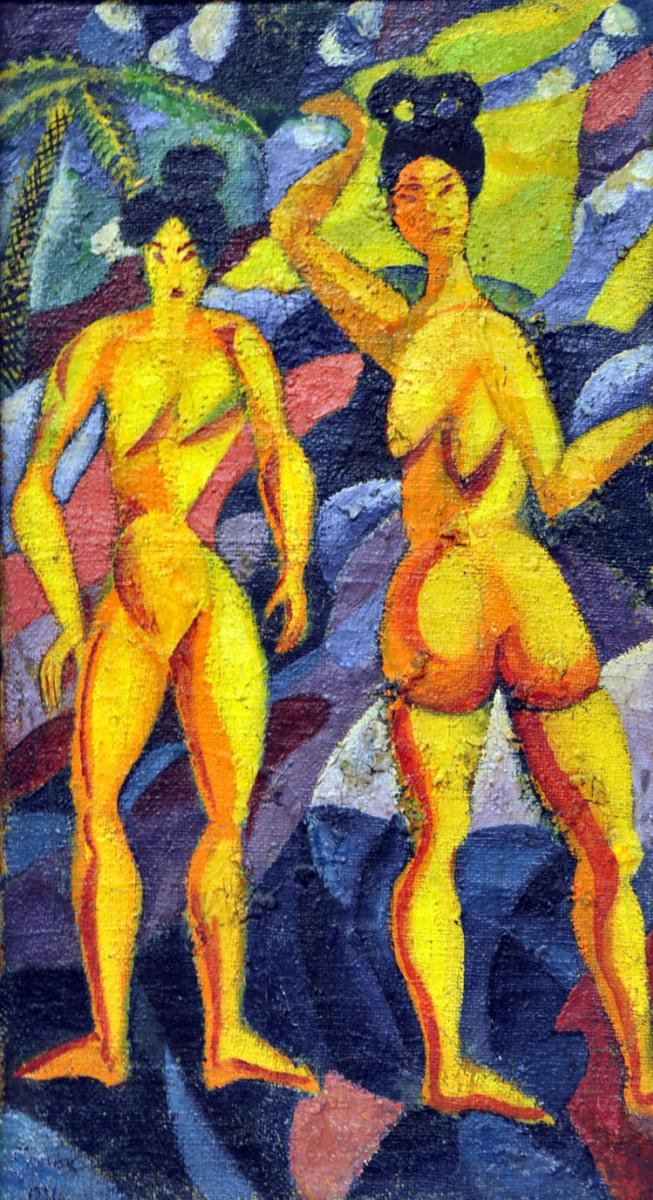 Давид Давидович Бурлюк. Женщины из тропиков
