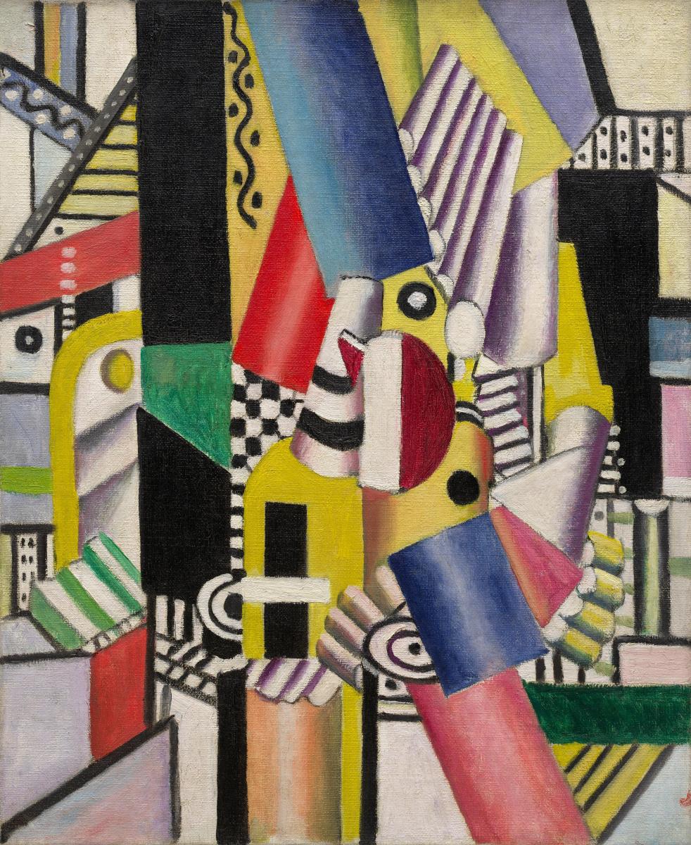 Fernand Leger. Plate