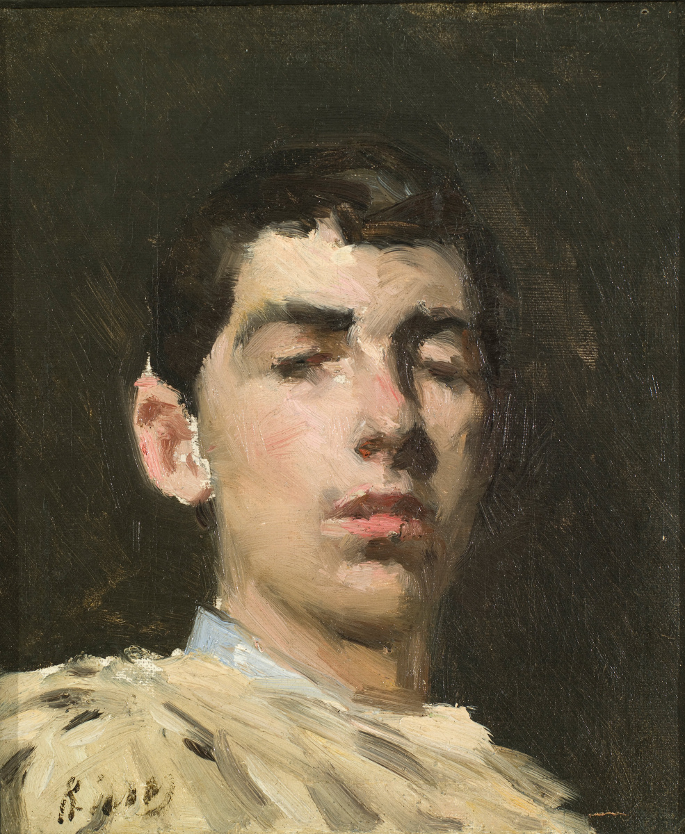 Рамон Касас Карбо. Self-portrait