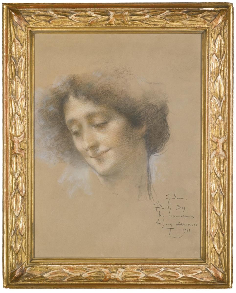 Люсьен Леви-Дюрмэ. Портрет дамы, предположительно мадам Хамди