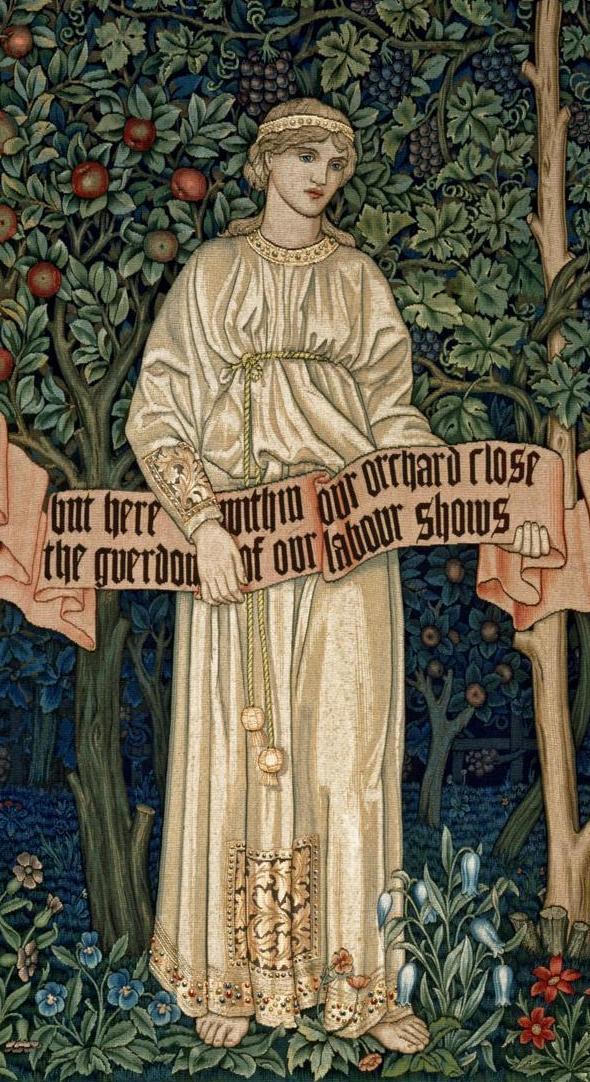 Уильям Моррис. Фруктовый сад. Фрагмент III