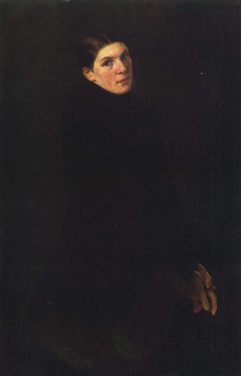 Николай Васильевич Неврев. Женский портрет . 1889