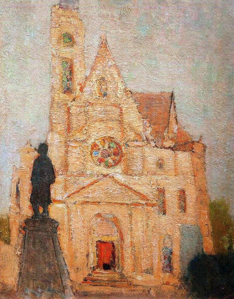 Николай Григорьевич Бурачек. Saint-Etienne Church in Paris