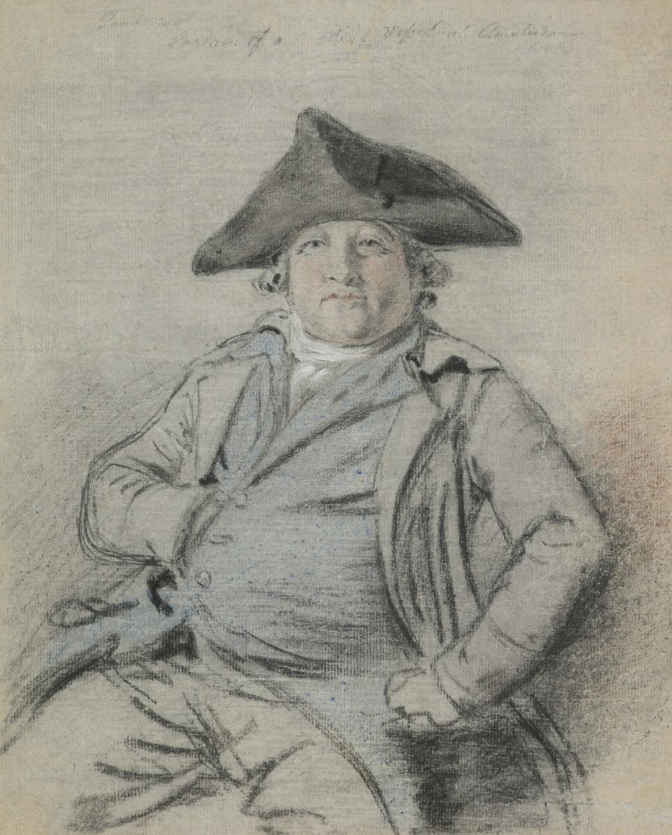 Thomas Gainsborough. Portrait of a Dutch sea captain