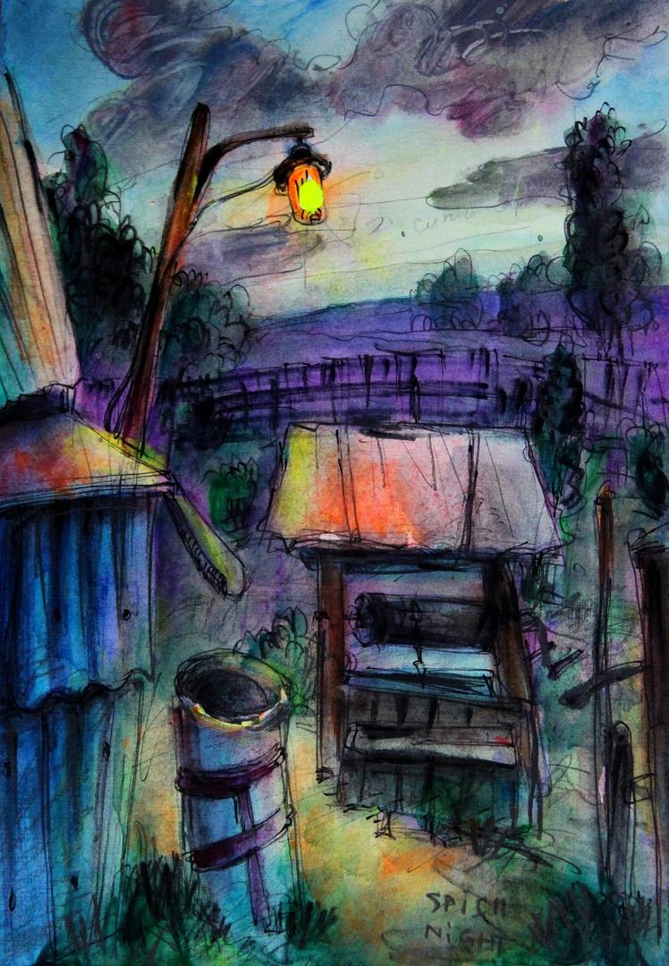 Ilya Pavlovich Spichenkov. Good night, village ...