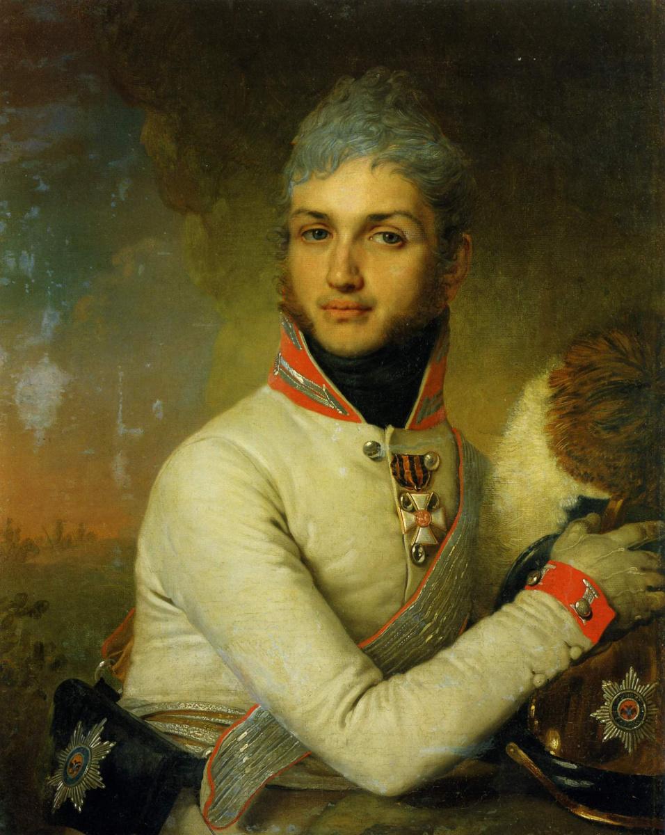 Владимир Лукич Боровиковский. Портрет князя Н. Г. Репнина-Волконского . 1806