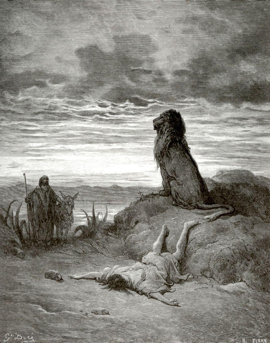 Поль Гюстав Доре. Смерть пророка