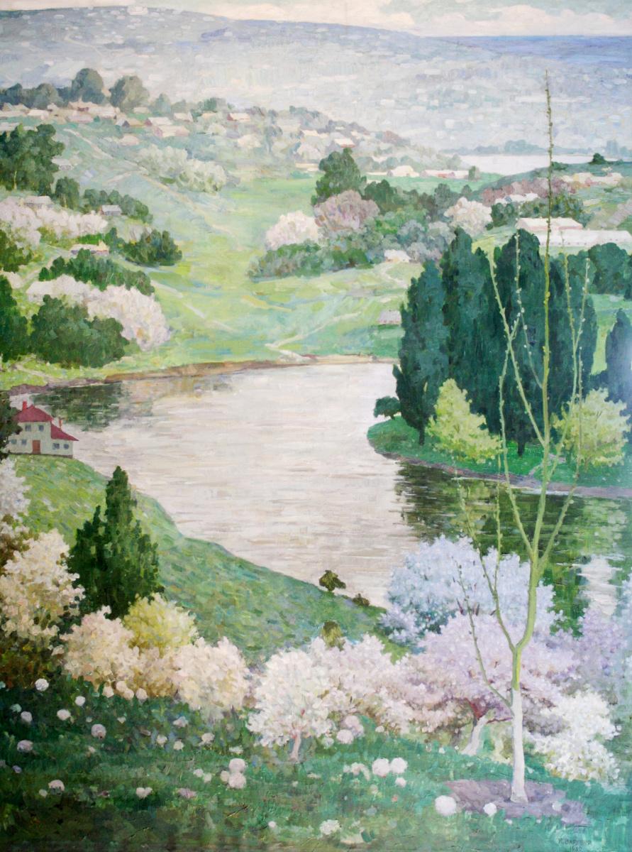 Nikolay Romanovich Varennya. Mountain river
