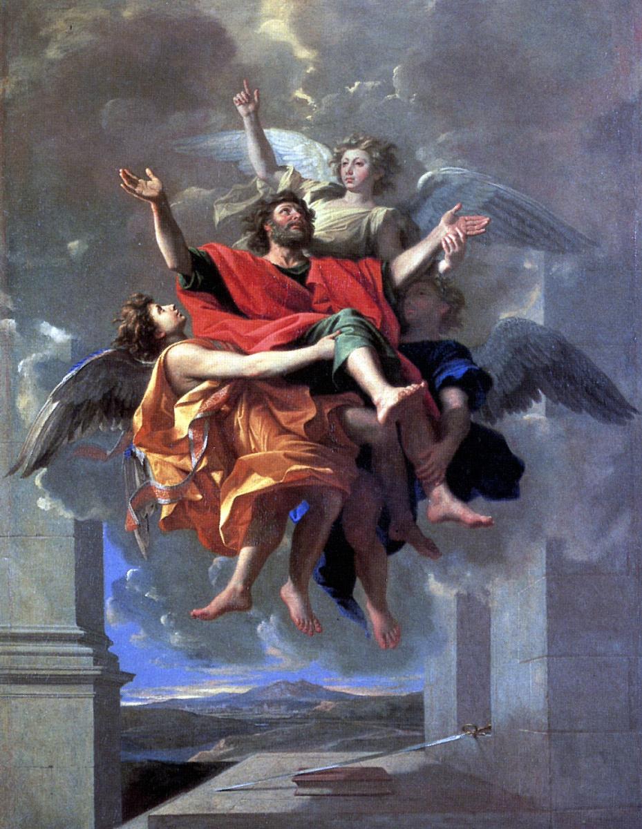 Никола Пуссен. Экстаз Святого Павла