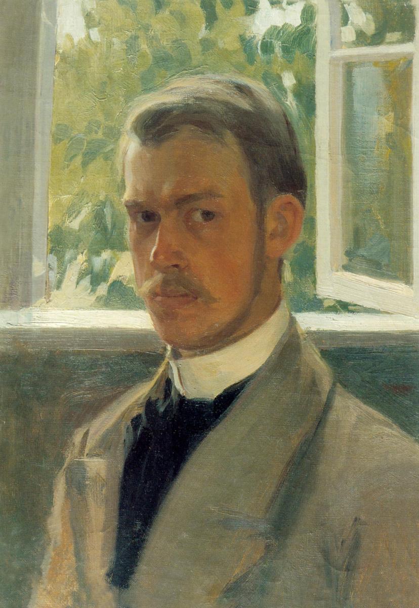 Борис Михайлович Кустодиев. Автопортрет