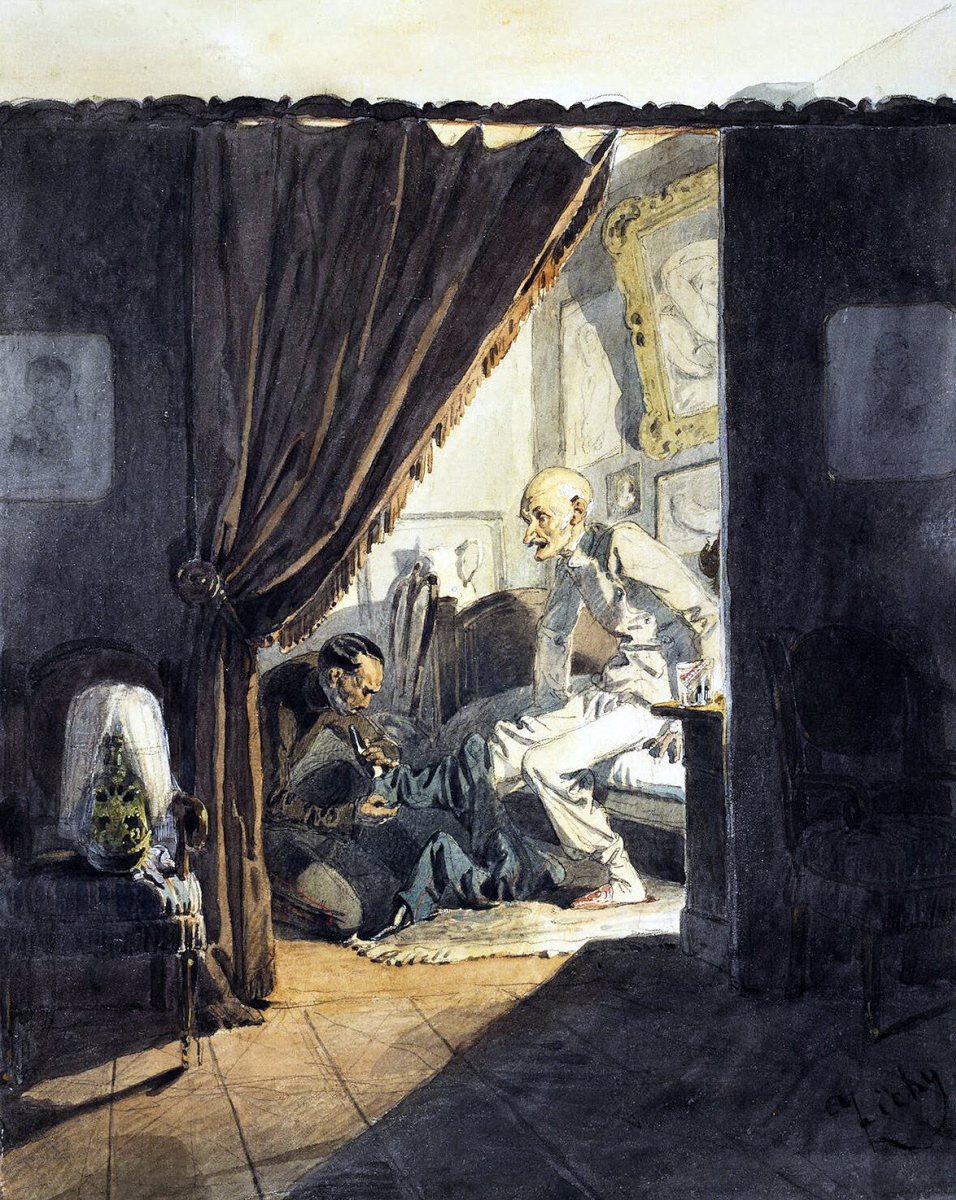 Михай Зичи. Генерал перед сном