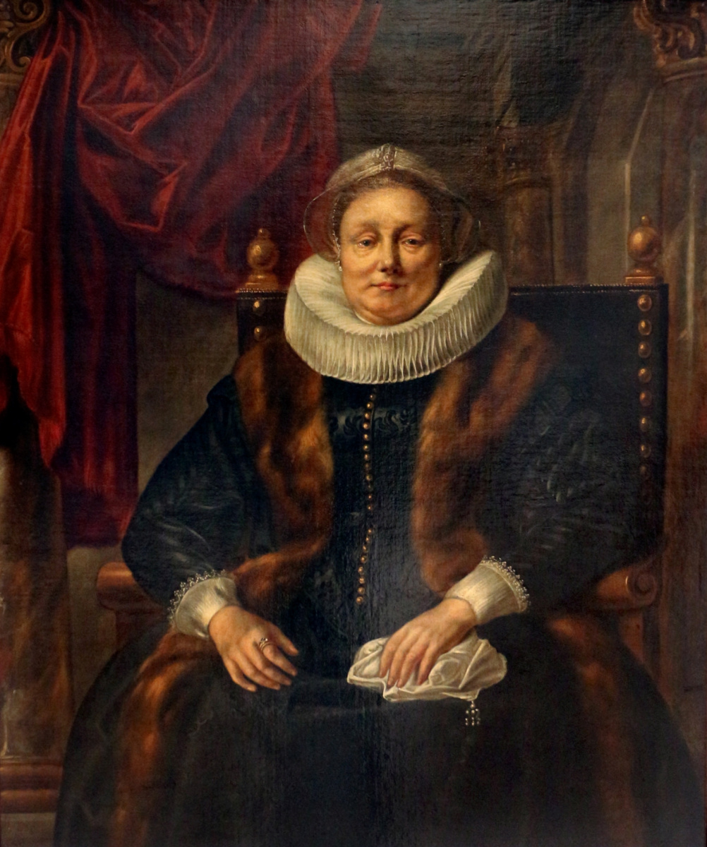 Якоб Йорданс. Portrait of a noble elderly lady