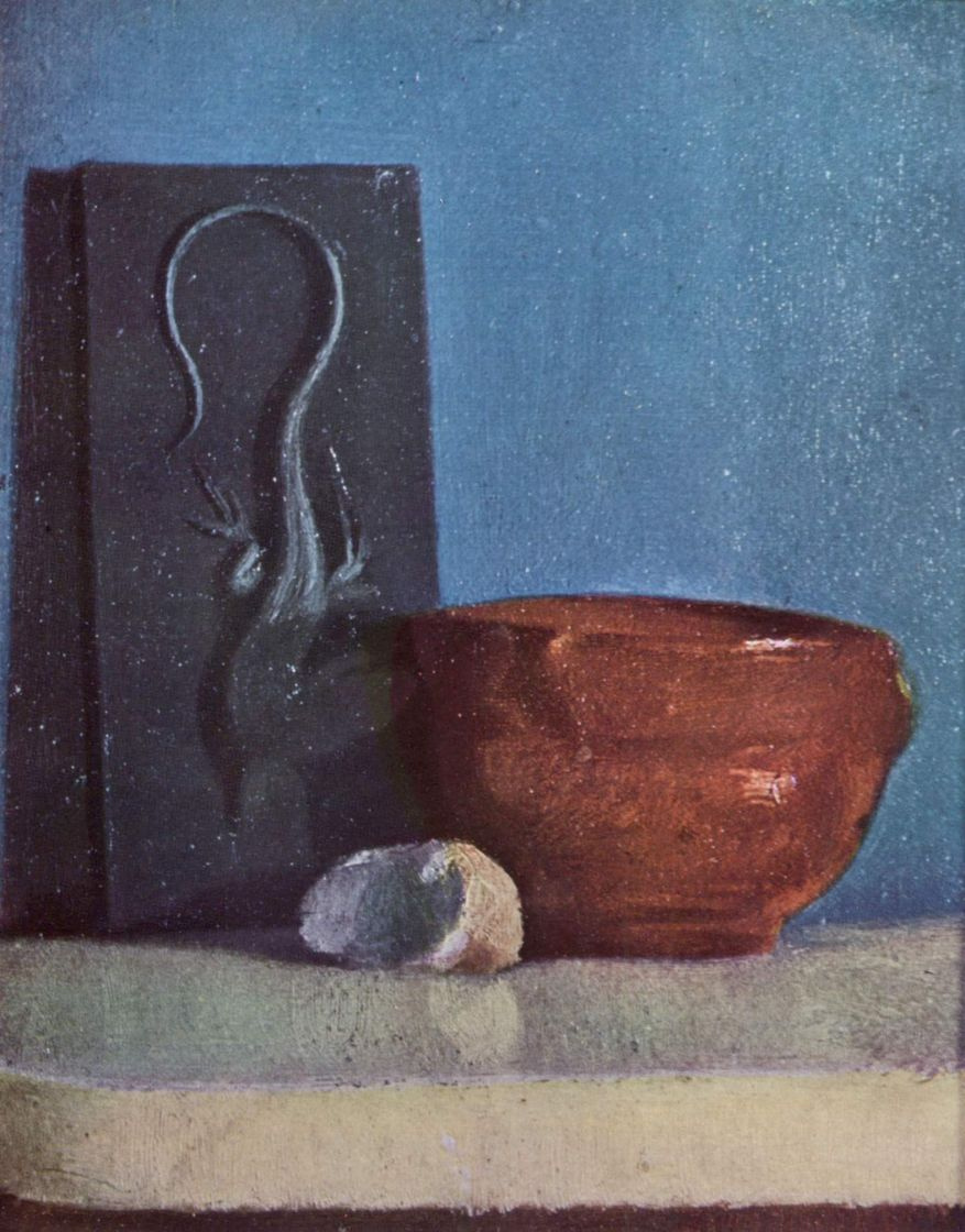 Эдгар Дега. Натюрморт с ящерицей