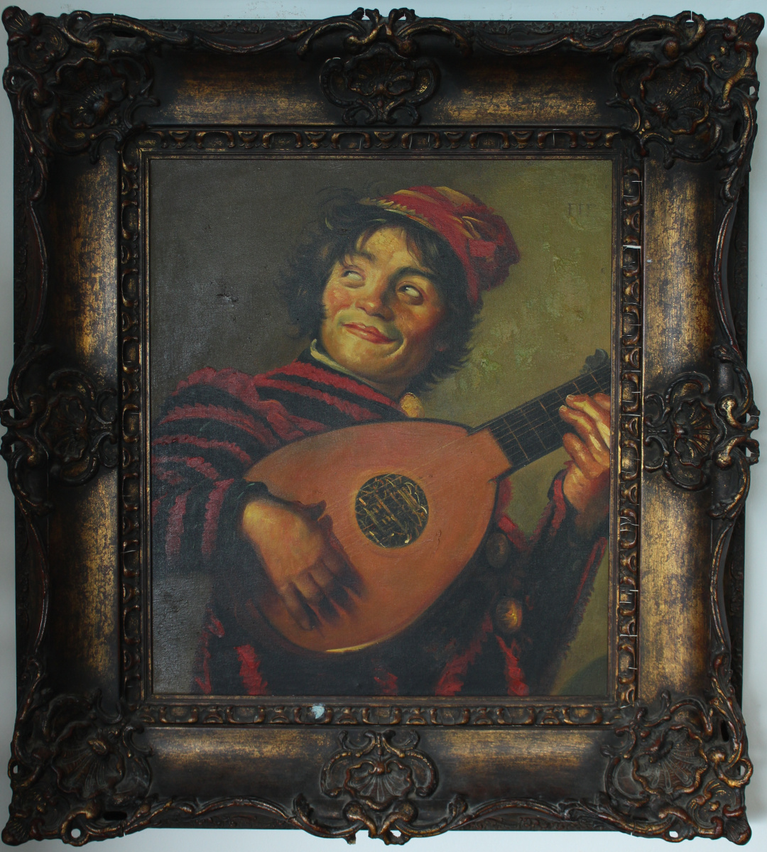 Unknown artist. Musician with a lute (Goya)