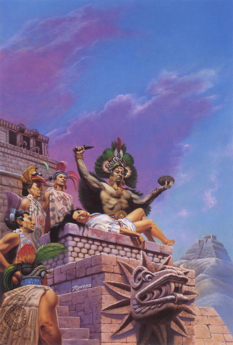 Aztec sacrifice girl sexual movies
