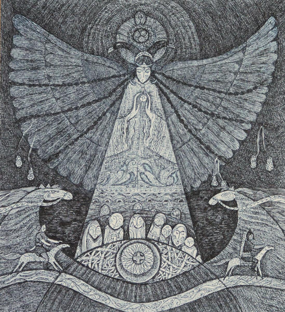Sagida Sirazieva. Goddess Umay