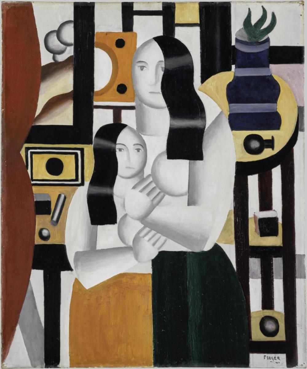 Fernand Leger. Les deux femmes debout