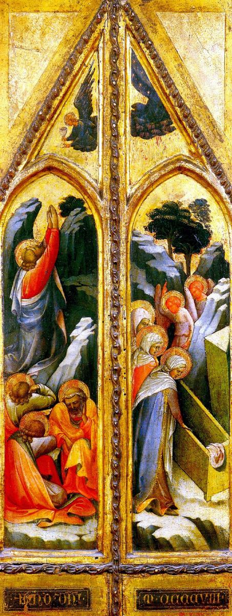 Лоренцо Монако. Христос в Гефсиманском саду