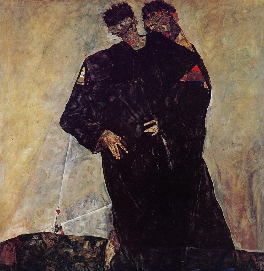 Egon Schiele. Hermits