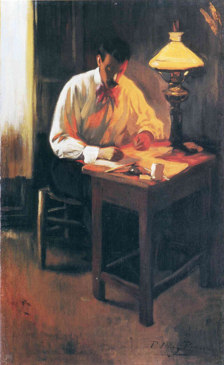 Пабло Пикассо. Портрет Джозепа Кардоны