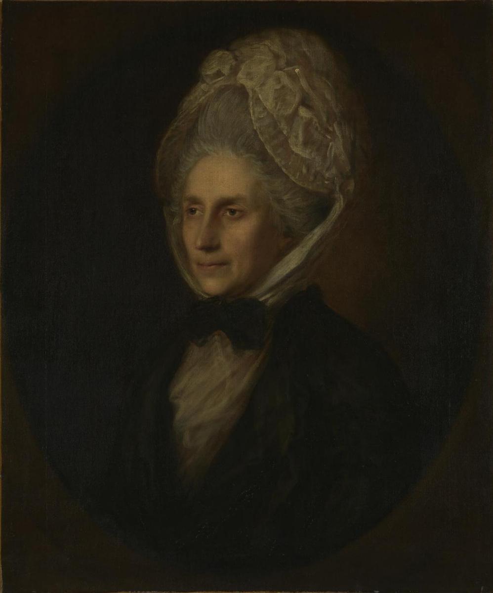 Thomas Gainsborough. Mrs. Susanna Gardiner