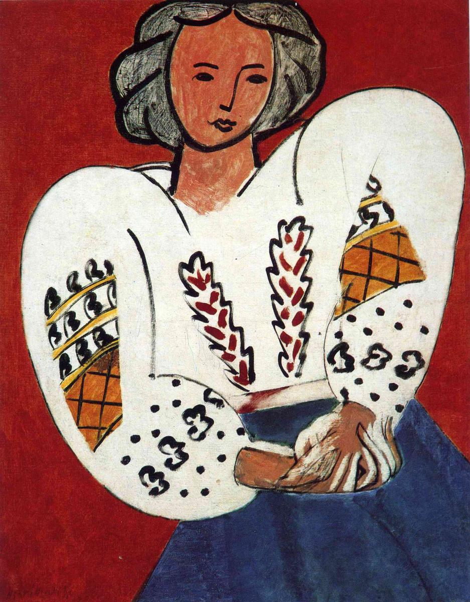 Картинки по запросу Анри Матисс «Румынская блуза»