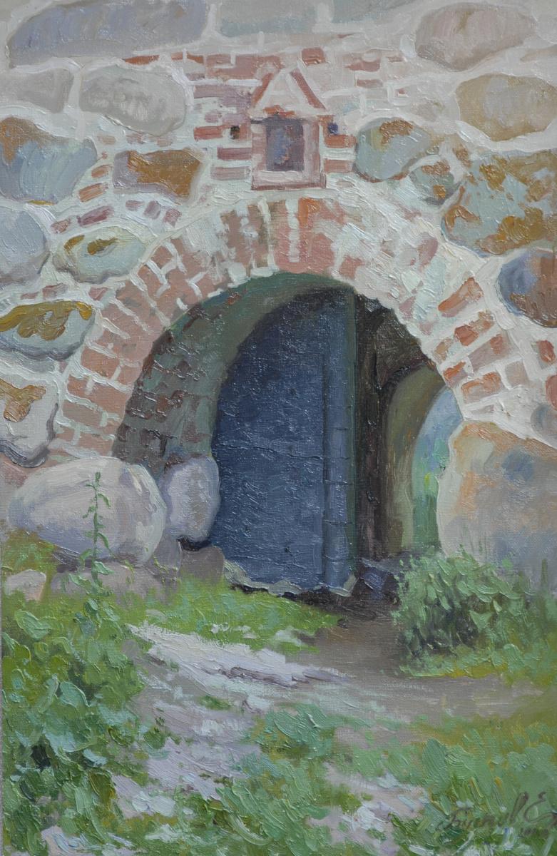Eugene Butch. Fish gate.Solovetsky monastery