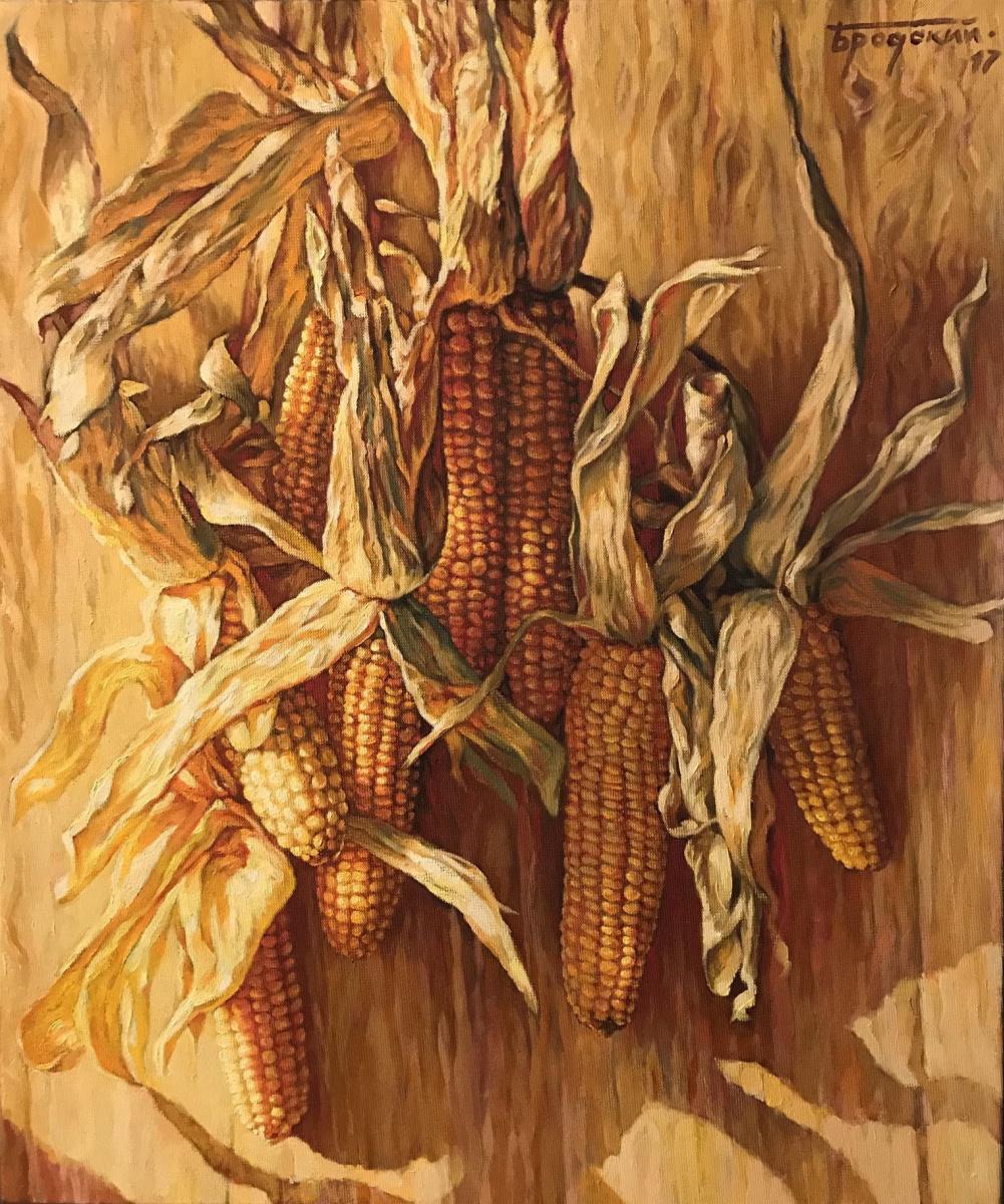David Shikovich Brodsky. Corn in the sun