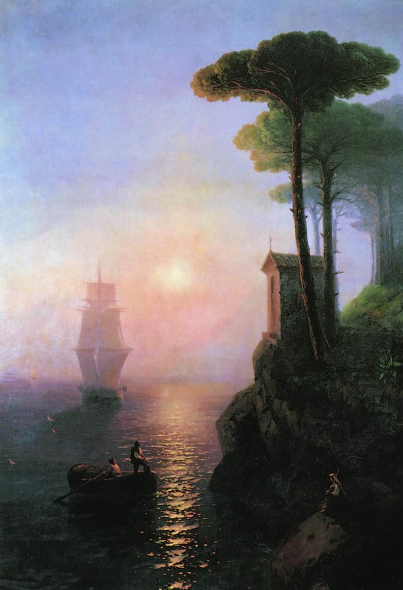 Иван Константинович Айвазовский. Туманное утро в Италии