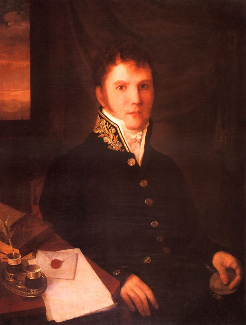 Алексей Гаврилович Венецианов. Портрет чиновника