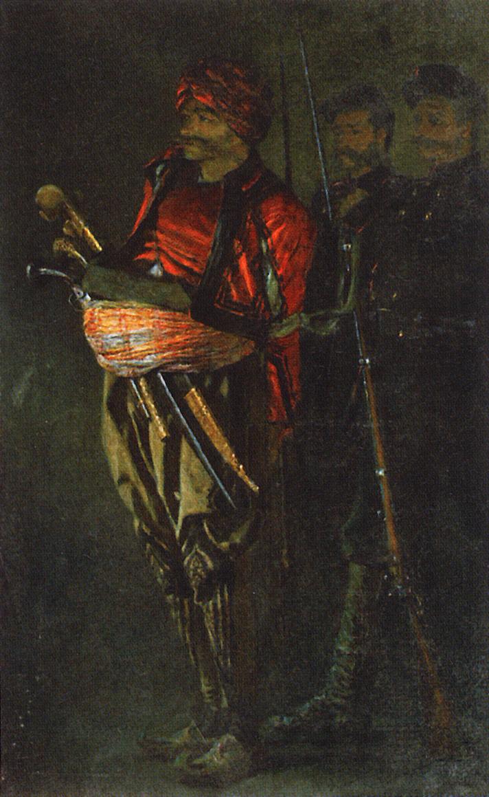 Василий Васильевич Верещагин. Башибузук (Албанец)