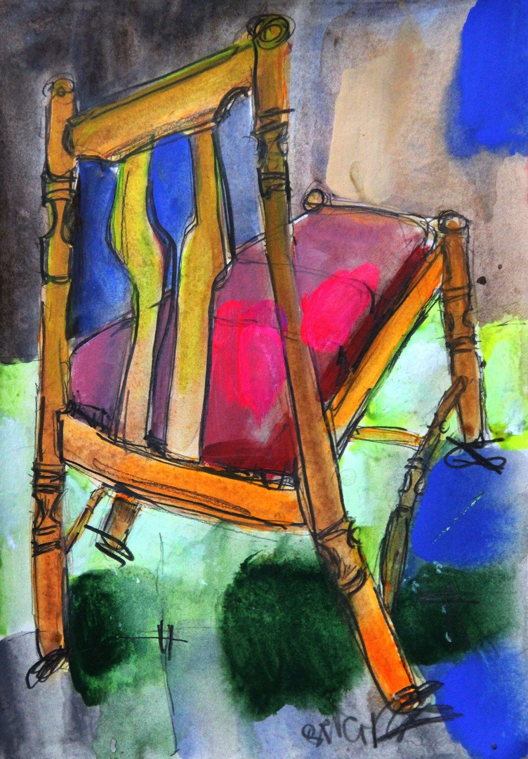 """Ilya Pavlovich Spichenkov. From the series """"Chair"""""""