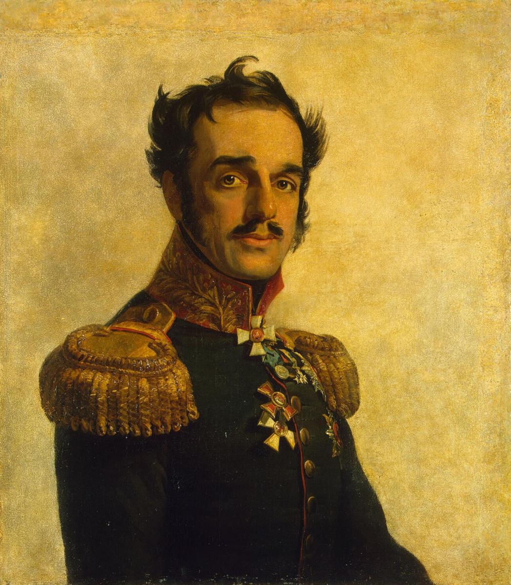 George Dow. Portrait of Ivan Osipovich Witt