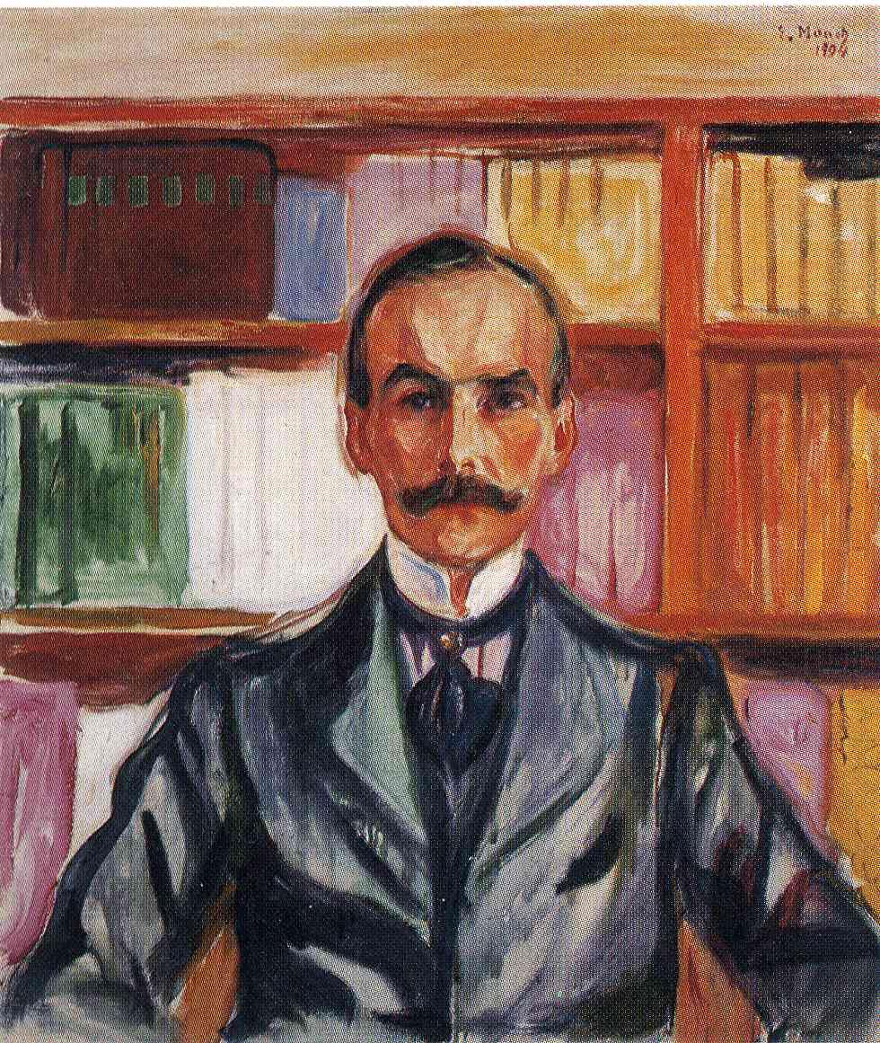 Edward Munch. Count Harry Kessler