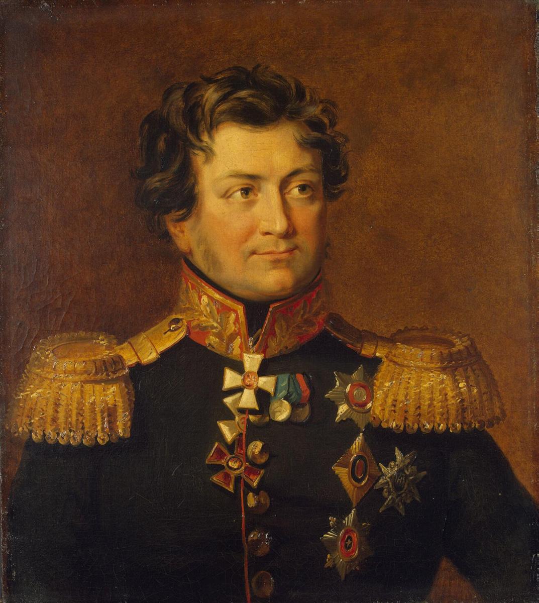 Джордж Доу. Портрет Александра Яковлевича Рудзевича