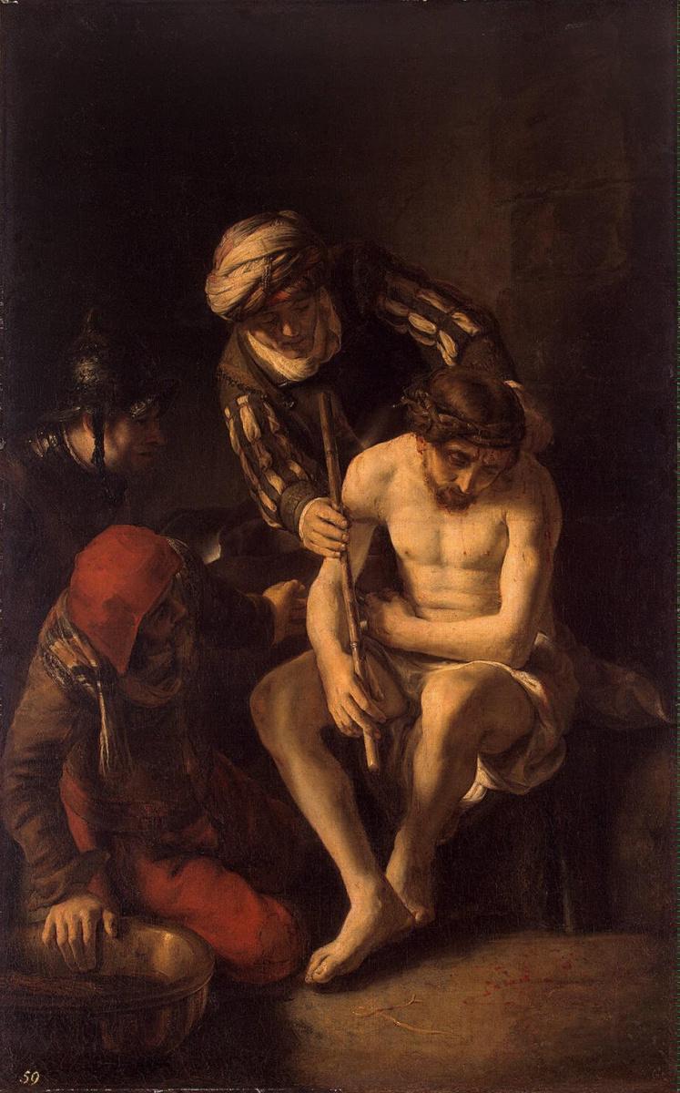 Николас Мас. Поругание Христа