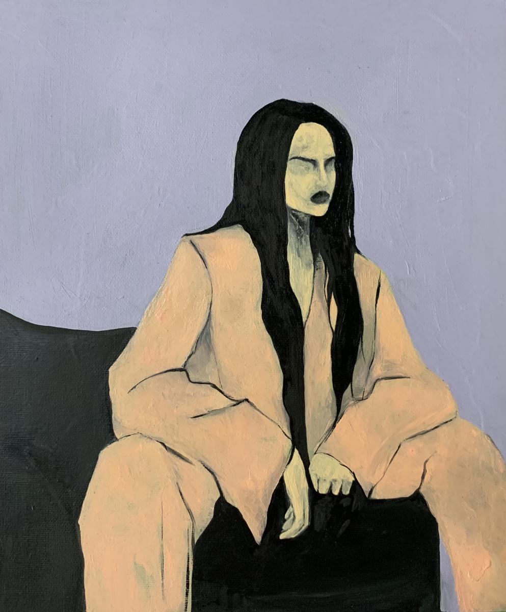 Amina Elbi. Woman