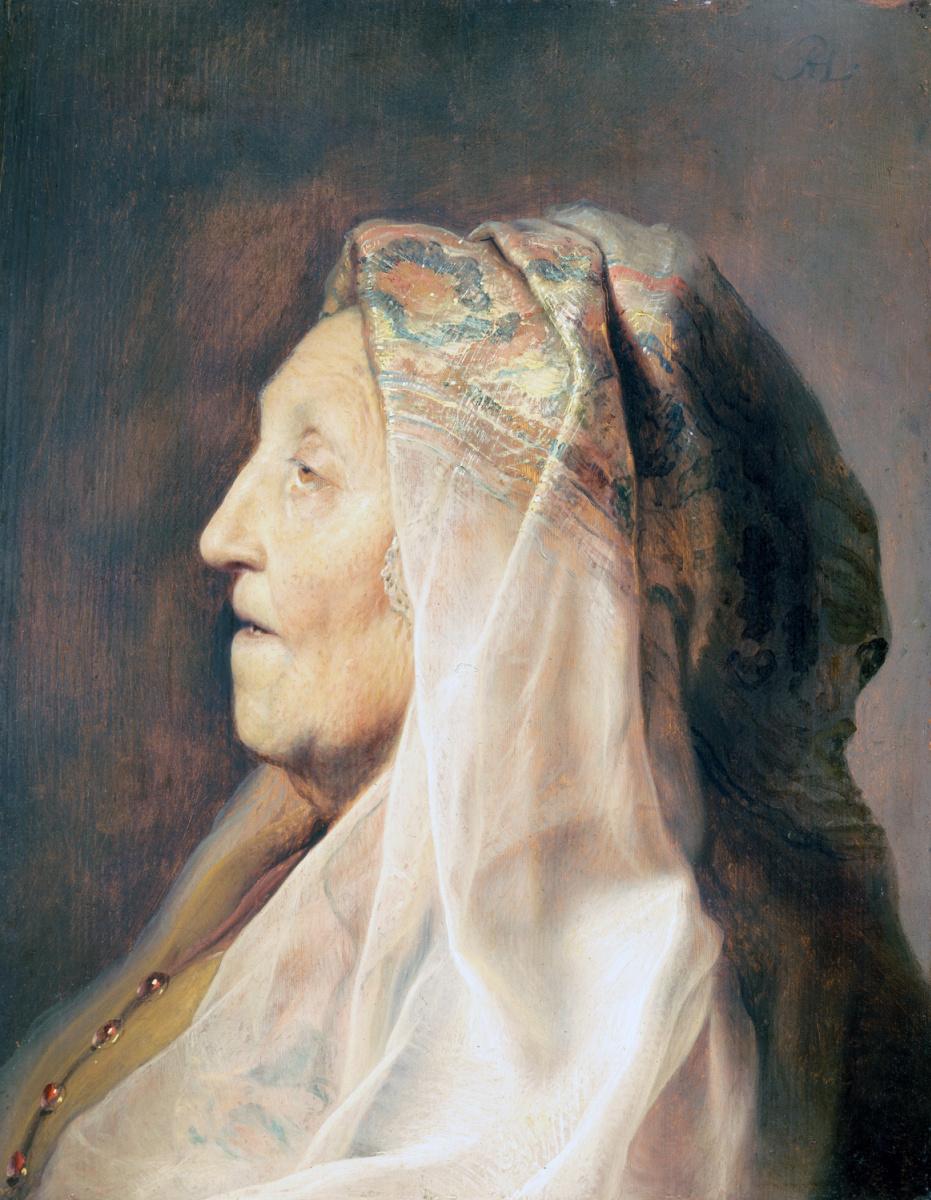 Ян Ливенс. Портрет матери Рембрандта