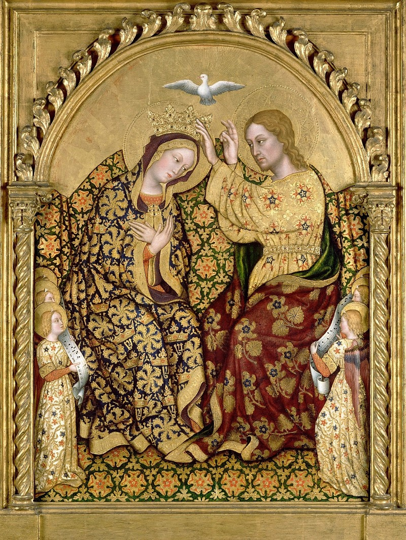 Gentile da Fabriano. The Crowning Of Mary