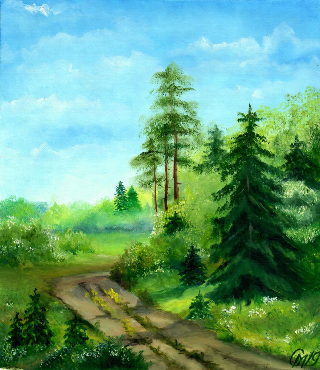 Мария Евгеньевна Сироткина. Into the forest for mushrooms