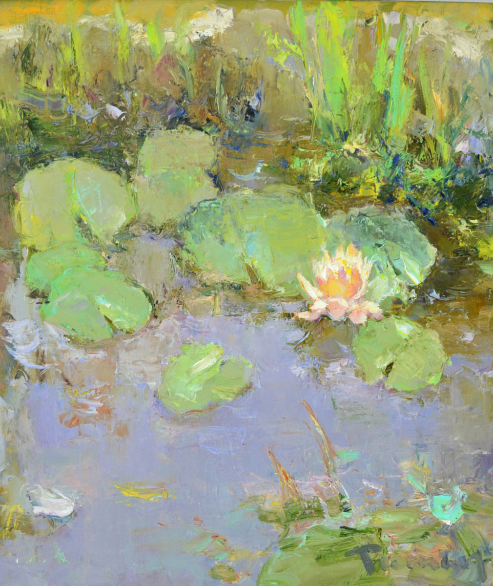 Tuman Art Gallery Tumana Zhumabayeva. From the lotus series