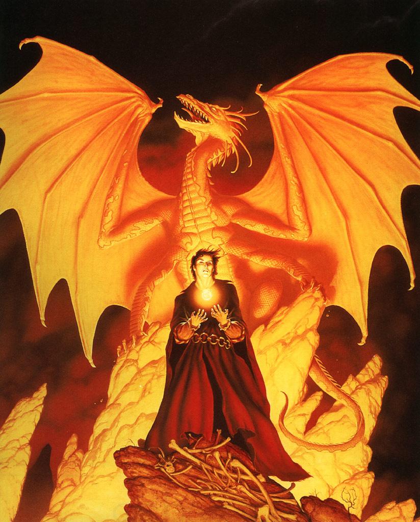 Майкл Уилан. Огненый дракон
